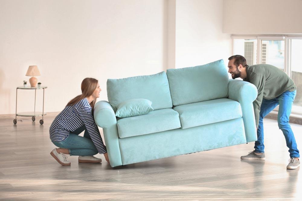 transportar un sofa